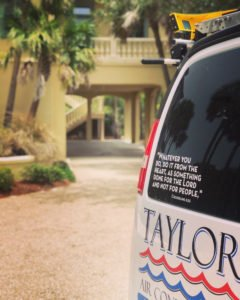 Taylor Air Conditioning and Property Services Moto